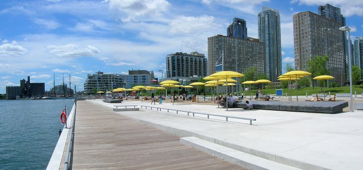 After A Walk Through The Toronto Music Garden Make Your Way East Along Queens Quay West Exploring Parks Marinas Galleries And Shopping