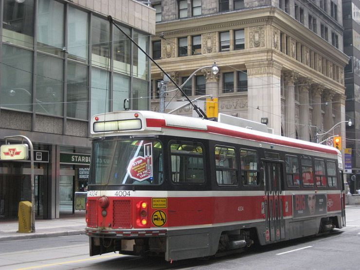 Streetcars play a significant role in Toronto's public transit system