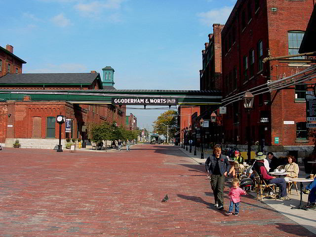 The Toronto Distillery District