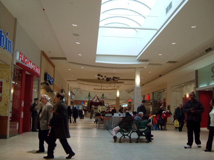 Inside Dufferin Mall