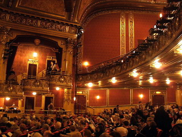 Interior of the lower Elgin Theatre