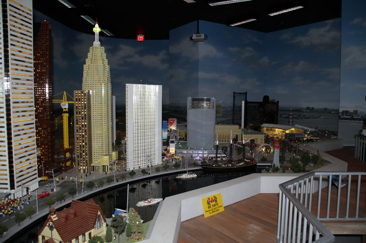 LEGO Miniature of the Downtown Toronto Harbourfront
