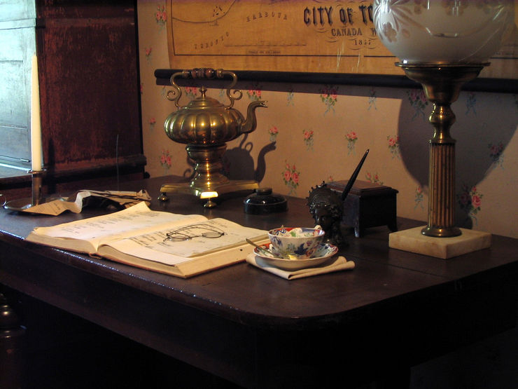 William Lyon Mackenzie's Desk