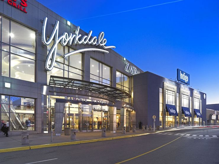 Yorkdale Mall Entrance