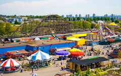 PNE Playland and the Pacific National Exhibition