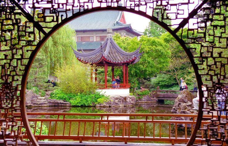 Chinatown's beautiful Dr. Sun-Dat Chinese Gardens