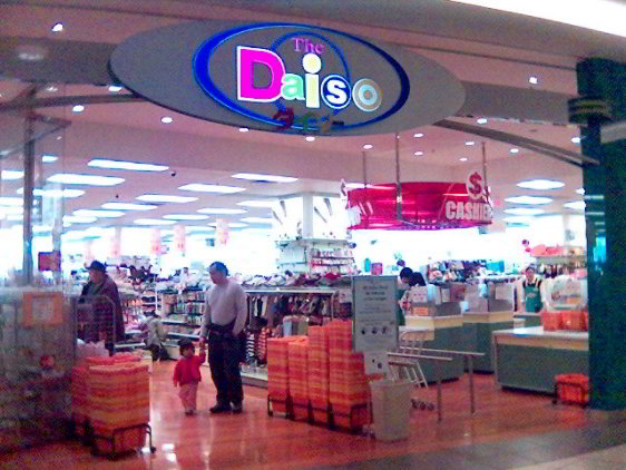 Entrance to the Daiso store in Aberdeen Centre Mall