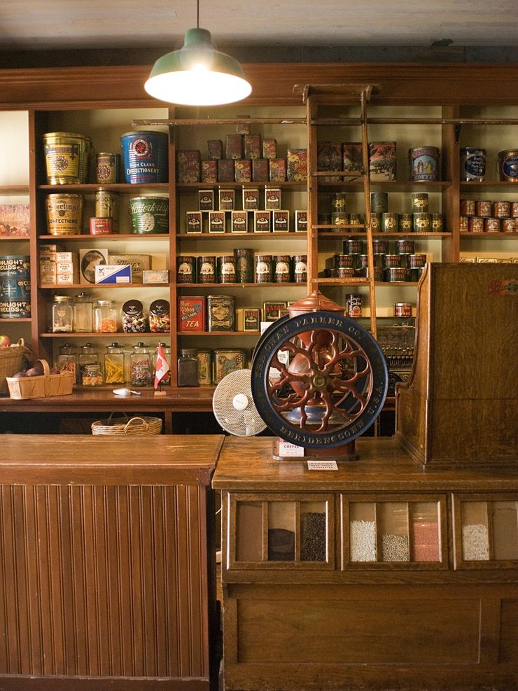 Old fashion Candyshop at Burnaby Village Museum