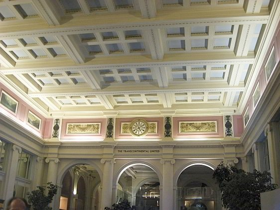 Beautiful Details and Architectural Features Highlight the Main Hall of Waterfront Station