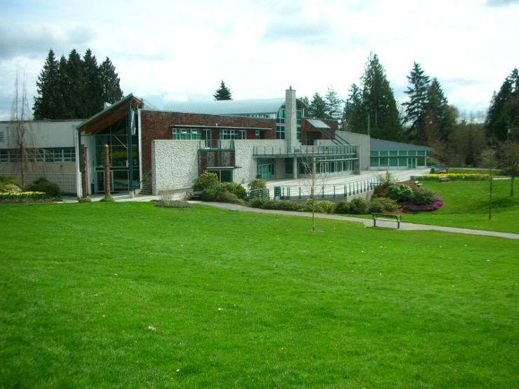 Shadbolt Center for the Performing Arts in Deer Lake Park