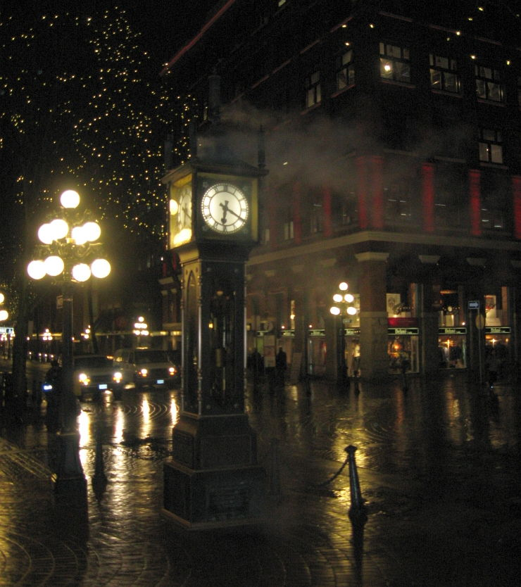 Steam Clock in Vancouver's Historic Gastown