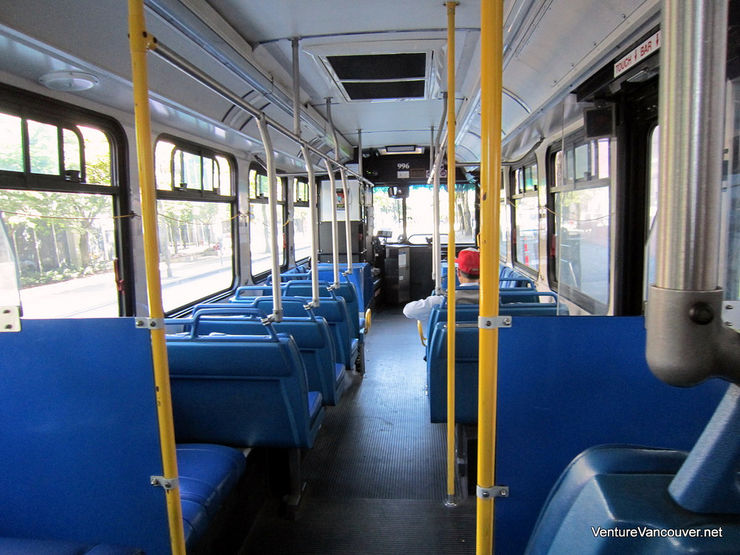 Interior of a CMBC Bus