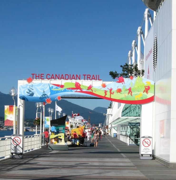 It is free to learn about Canada's history along the Canadian Trail