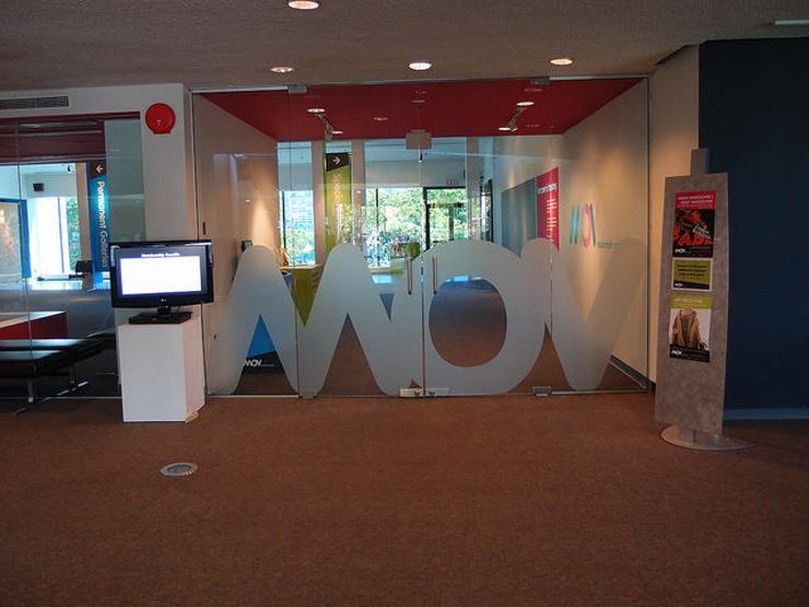 Entrance to the MOV