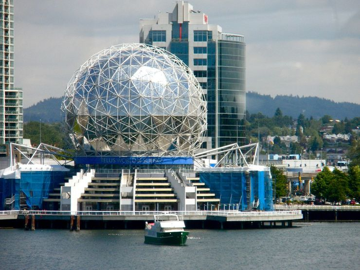Science World's striking geodesic dome