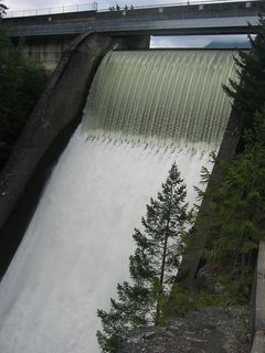 Cleveland Dam and Capilano Lake